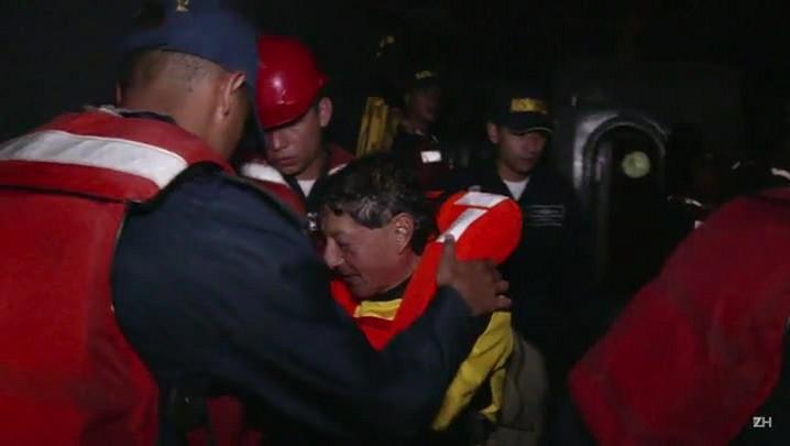 Colômbia resgata 24 estrangeiros no Pacífico