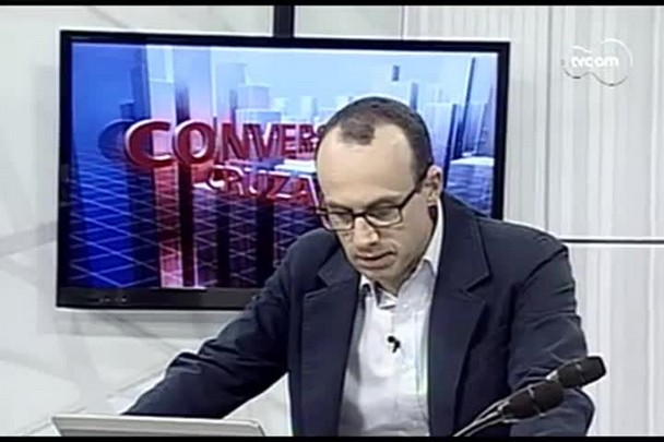 TVCOM Conversas Cruzadas. 4º Bloco. 15.08.16
