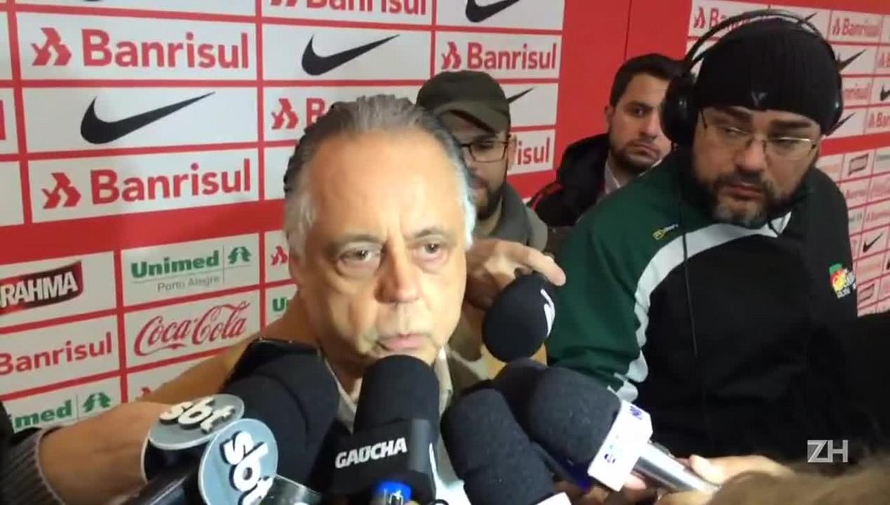 Fernando Carvalho fala após empate no Beira-Rio