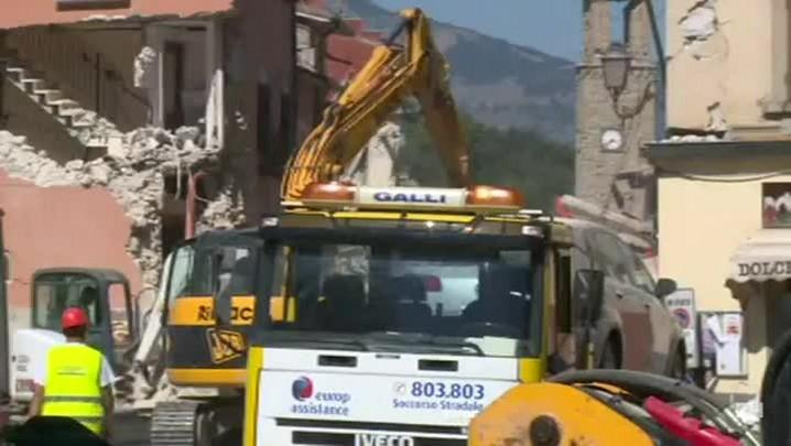 Terremoto na Itália tem 247 mortos