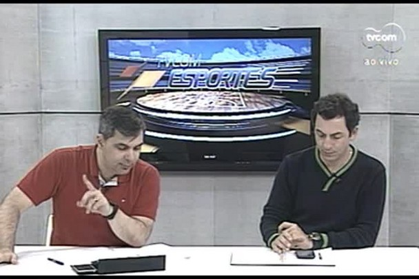 TVCOM Esportes. 4º Bloco. 15.09.16
