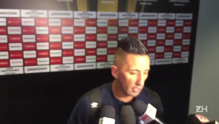 Barrios fala sobre atuação com três gols em vitória do Grêmio