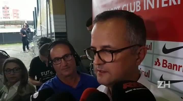 """Melo: \""""Os dois próximos jogos no Beira-Rio serão decisivos\"""""""