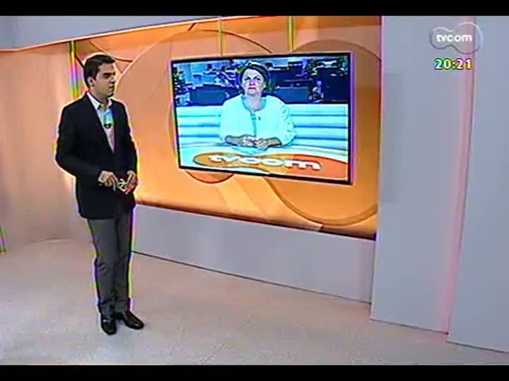 TVCOM 20 Horas - 15/01/2013 - Bloco 3 - Deputado federal Henrique Eduardo Alves deu explicações sobre acusações em Porto Alegre