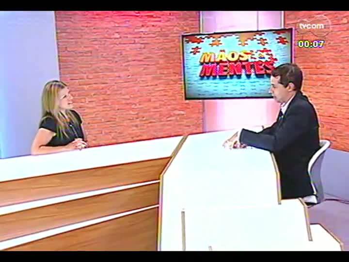 Mãos e Mentes - Gerente da Lee Hecht Harrison/DBM, unidade Porto Alegre, Rose Russowski - Bloco 4 - 20/02/2013