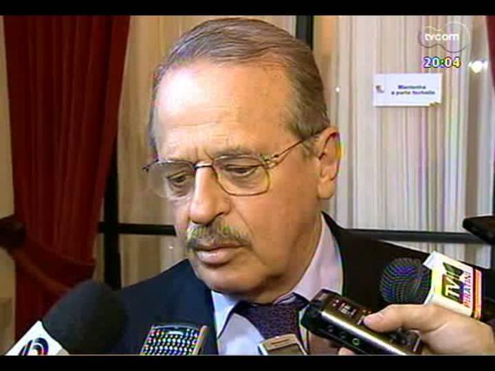 TVCOM 20 Horas - Tarso Genro afirma que não vai mais negociar com partidos o comando da Fepam - Bloco 1 - 07/05/2013