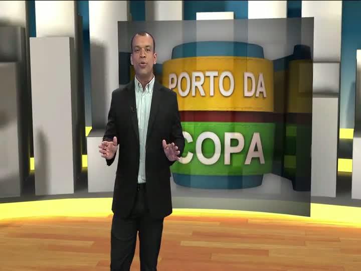 Porto da Copa - Após manifestações, prefeitura admite que obras importantes para a cidade não vão ficar prontas até 2014. Saiba mais - Bloco 1 - 01/07/2013