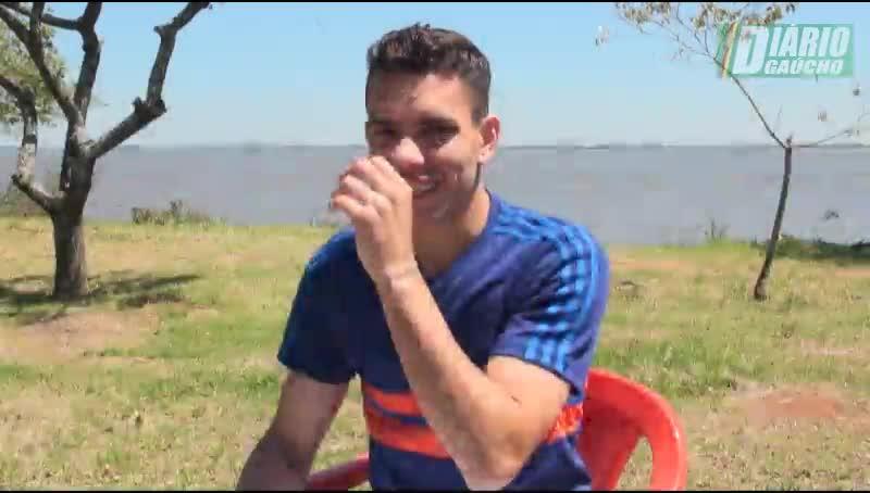 Atacante Caio conta as experiências nos EUA e a vida no Inter