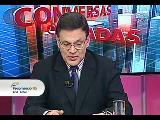 Conversas Cruzadas - Metrô de Porto Alegre é anunciado mais uma vez: será que agora vai? - Bloco 2 - 10/10/2013