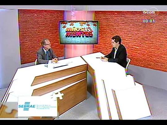 Mãos e Mentes - Reitor da Uniritter, Telmo Frantz - Bloco 3 - 13/12/2013
