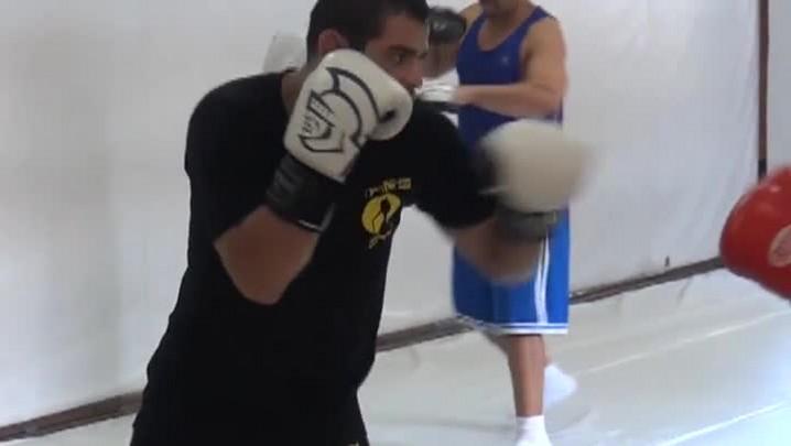 Renan Barão se prepara para duelo contra Dillashaw. 09/04/2014