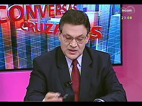 Conversas Cruzadas - Quais as consequências da transferência de policiais do interior para a capital durante o mundial? - Bloco 3 - 22/04/2014