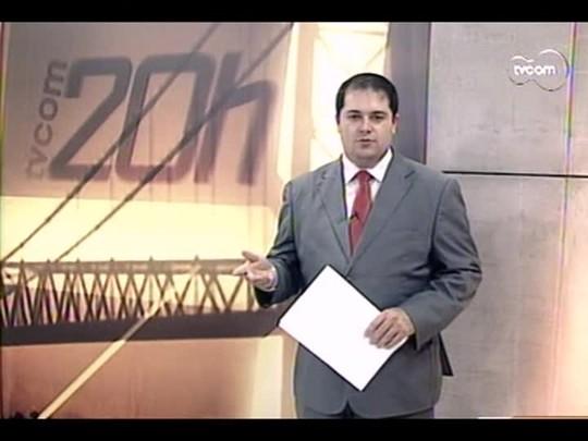 TVCOM 20 Horas - Estado quer retomar projeto da tornozeleira em detentos para enfrentar falta de vagas no sistema - Bloco 3 - 29/05/14