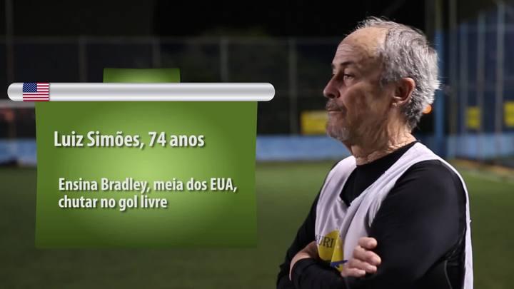Peladeiro faz melhor – Confira os craques catarinenses ensinando os jogadores da Copa do Mundo