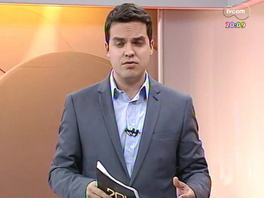 TVCOM 20 Horas - Prefeitura de Rio Grande decreta situação de emergência. Ventos fortes paralisaram atividades no porto - Bloco 2 - 24/07/2014