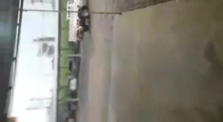 Chuva rápida de granizo atinge Taió
