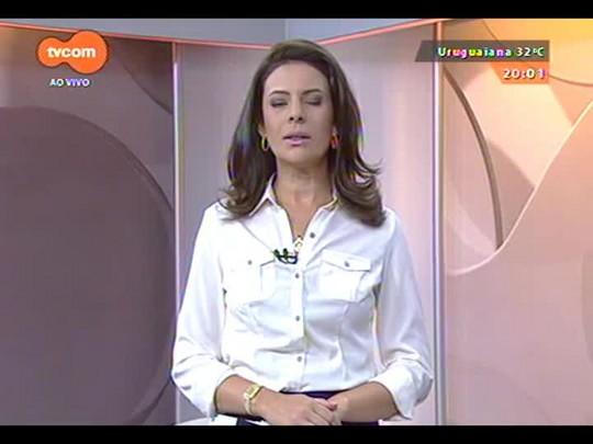 TVCOM 20 Horas - Protesto tranca as principais vias de acesso à capital - 08/12/2014