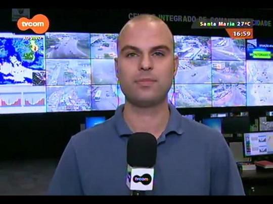 #KnalVERÃO - Estreia na TVCOM com informações de trânsito na saída para o litoral - Bloco 1 - 12/12/2014