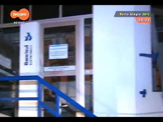 TVCOM 20 Horas - Assaltantes explodem mais uma agência bancária no interior do RS - 25/12/2014