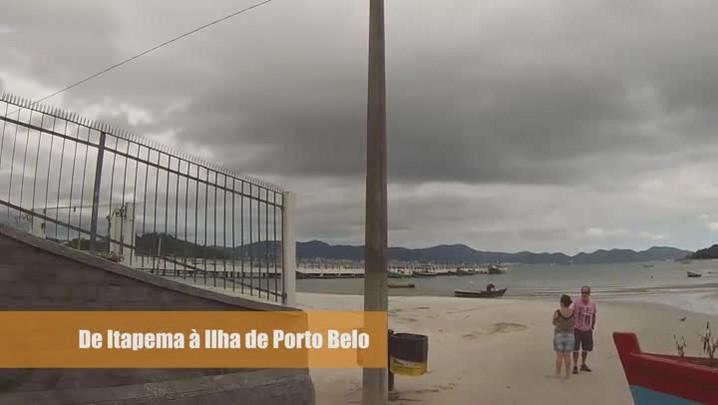 Bike Repórter: passeio na Ilha de Porto Belo