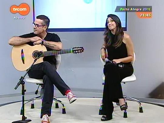 TVCOM Tudo Mais - Cris Silva e Paulo Inchauspe falam sobre o espetáculo Fossa Nova