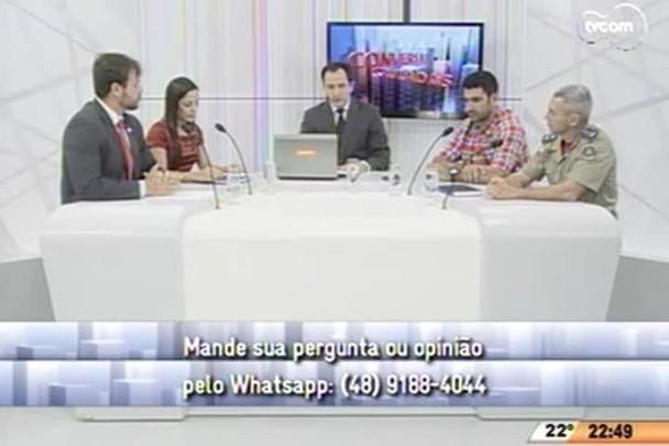 Conversas Cruzadas - Ministério Público denuncia autor de crime na Fields - 4º Bloco - 08.04.15