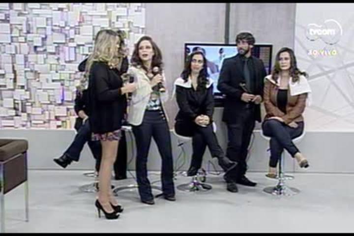 TVCOM Tudo+ - Profissionais ensinam a fazer cabelos ondulados e cacheados - 09.07.15