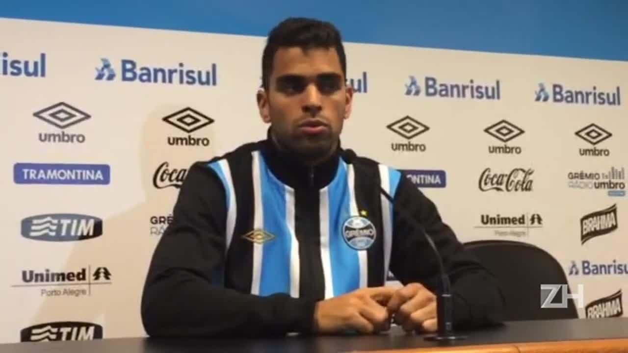 """Novo capitão do Grêmio, Maicon promete diálogo: \""""Meu estilo é de conversar\"""""""