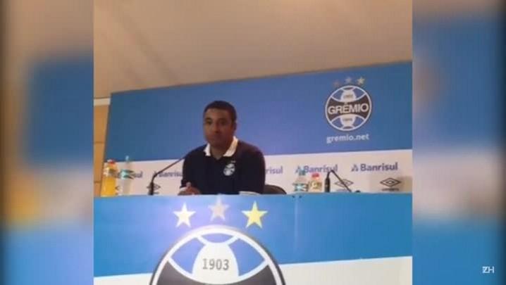 Roger fala sobre eliminação gremista na Copa do Brasil