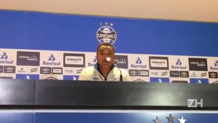 Roger Machado avalia vitória do Grêmio sobre o Flamengo