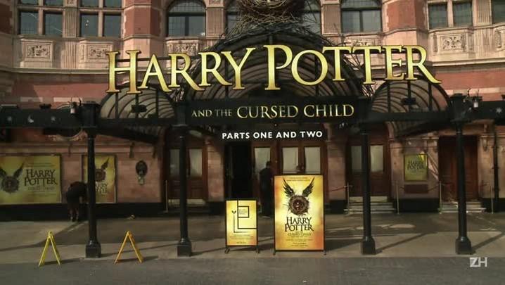 Harry Potter chega ao teatro como adulto e pai de família