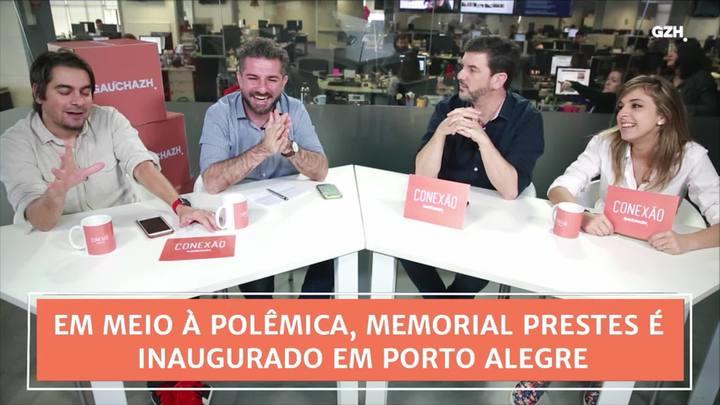 Conexão GaúchaZH: em meio à polêmica, Memorial Prestes é inaugurado em Porto Alegre