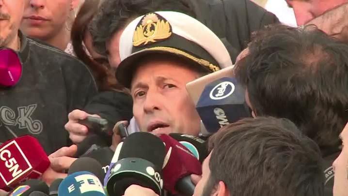 Argentina investiga ruído após último contato com submarino