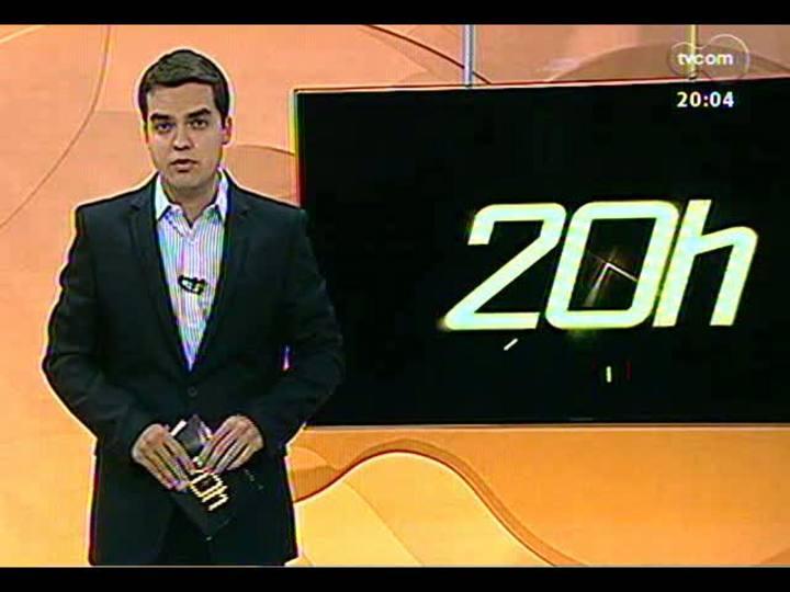TVCOM 20 Horas - Lista com situação de casas noturnas de Porto Alegre - 30/01/2013 - Bloco 1