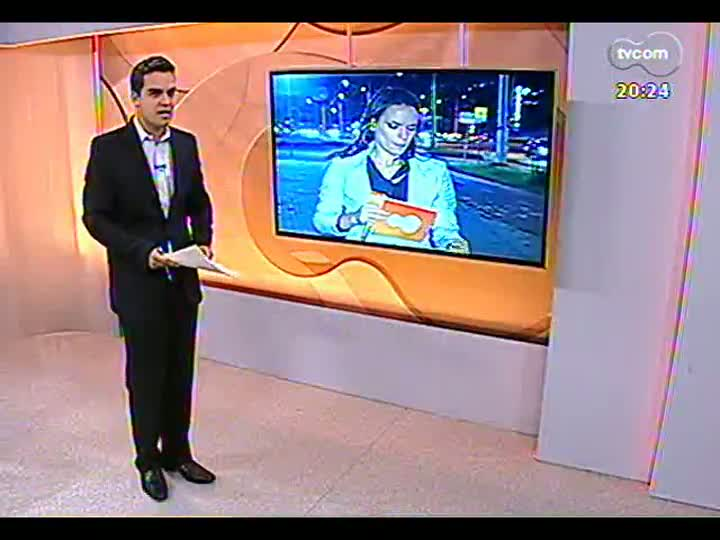 TVCOM 20 Horas - Trânsito em torno da Arena do Grêmio e do Estádio do Zequinha - Bloco 3 - 05/03/2013