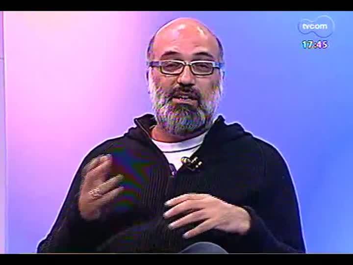 Programa do Roger - artista Daniel Escobar fala da exposição \'Você está aqui\' - bloco 1 - 20/03/2013