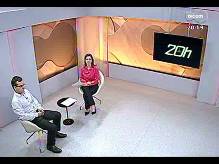 TVCOM 20 Horas - Superbactéria: casos diagnosticados no Hospital Universitário de Santa Maria - Bloco 3 - 04/04/2013