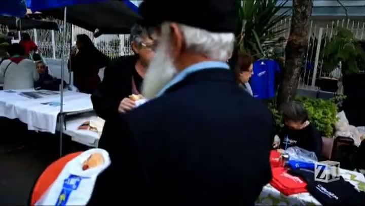 Festa na Rua celebra independência do Estado de Israel