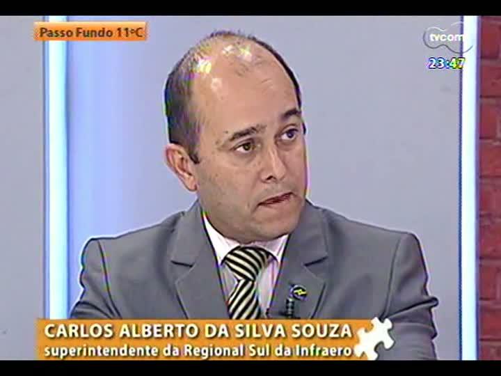 Mãos e Mentes - Superintendente regional da Infraero, Carlos Alberto da Silva Souza - Bloco 2 - 29/05/2013