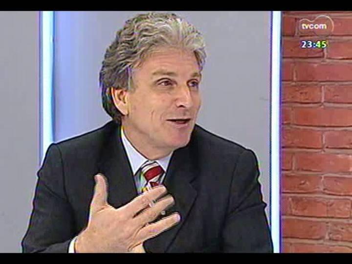 Mãos e Mentes - Chefe de Oncologia do HCPA, Gilberto Schwartsmann - Bloco 2 - 30/05/2013