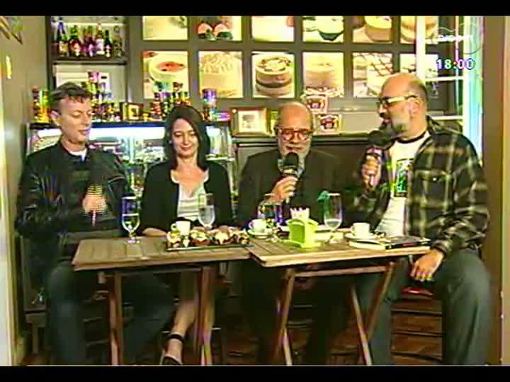 Café TVCOM - O acervo de livros de Tatata Pimentel - Bloco 1 - 10/08/2013