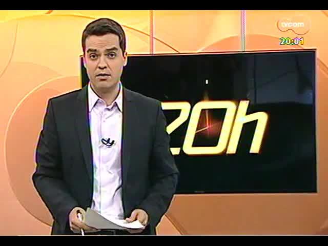 TVCOM 20 Horas - Informações de trânsito e clima para o feriadão - Bloco 1 - 19/09/2013
