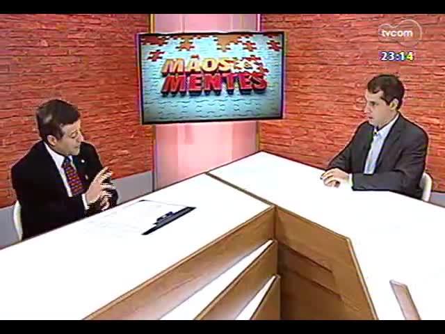 Mãos e Mentes - Deputado federal e ex-ministro da Agricultura, Mendes Ribeiro Filho - Bloco 2 - 22/09/2013