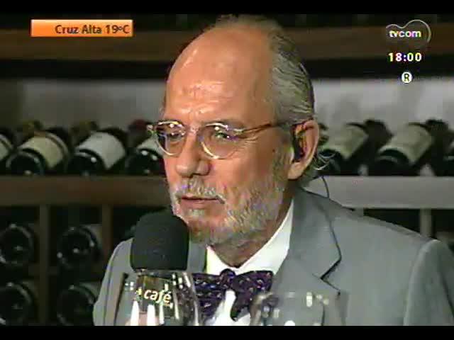 Café TVCOM - Confira um bate papo sobre vinhos direto do showroom da Porto a Porto, no DC Navegantes - Bloco 1 - 12/10/2013