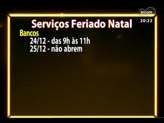 TVCOM 20 Horas - Entrevista com o novo secretário estadual do Esporte - Bloco 3 - 23/12/2013