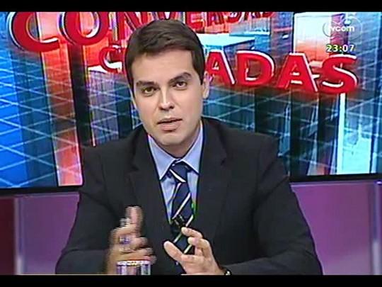 Conversas Cruzadas - Debate sobre pesquisa que revelou que 94% moradores da favela se consideram felizes - Bloco 4 - 24/02/2014