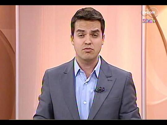 TVCOM 20 Horas - Presidente do Internacional Giovanni Luigi fala sobre as estruturas temporárias - Bloco 2 - 25/03/2014