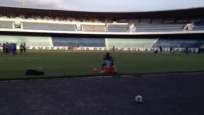 Wendell treina normalmente e deve estar em campo contra o San Lorenzo