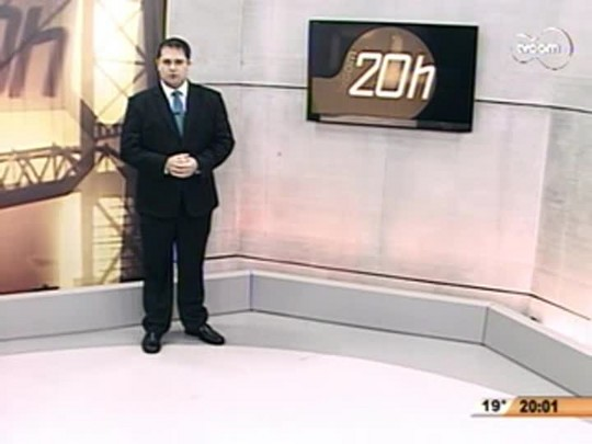 TVCOM 20 Horas - Governo Rompe Contrato com Construtora da Ponte Hercílio Luz - 1ºBloco - 19.08.14