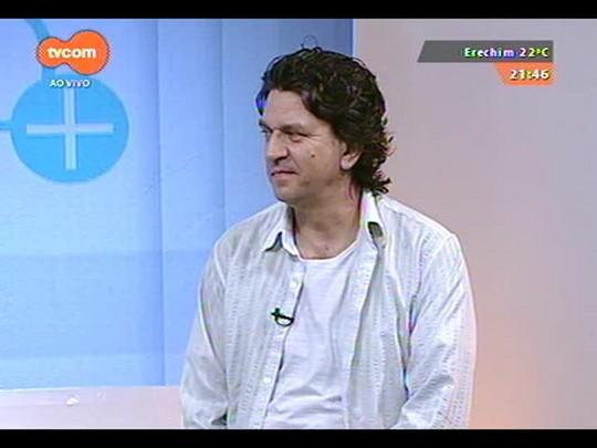 TVCOM Tudo Mais - Lucio Brancato conversa com Carlos Badia sobre o \'POA Jazz Festival\'